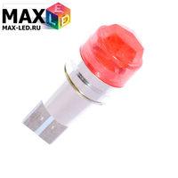 Cветодиодная лампа W5W T10 – Max-Cristal 1 Led 3Вт Крансная