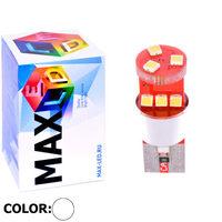 Cветодиодная лампа W5W T10 – Max-Samsung 9 Led 9Вт Белая