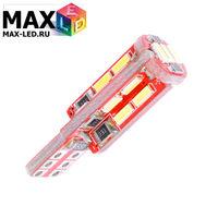 Cветодиодная лампа W5W T10 – Max-Visico 19 Led 4Вт Белая