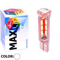 Cветодиодная лампа W5W T10 – Max-Visico 27 Led 6Вт Белая