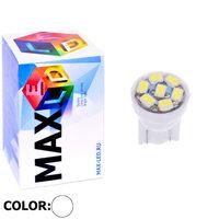 Cветодиодная лампа W5W T10 – Max-2820 7 Led 0.3Вт Белая