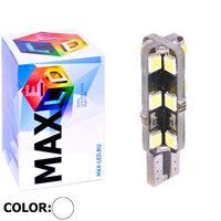 Cветодиодная лампа W5W T10 – Max-Hill 24 Led 4Вт Белая