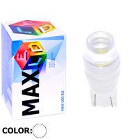 Cветодиодная лампа W5W T10 – Max-Ceramic B 2 Led 3Вт Белая