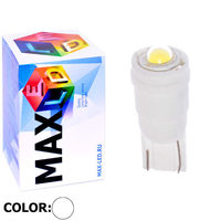 Cветодиодная лампа W5W T10 – Max-Ceramic Power Led 5Вт Белая