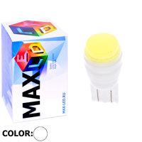Cветодиодная лампа W5W T10 – Max-Ceramic COB Led 2Вт Белая