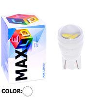 Cветодиодная лампа W5W T10 – Max-Ceramic C 2 Led 3Вт Белая