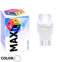 Cветодиодная лампа W5W T10 – Max-Ceramic A 2 Led 3Вт Белая