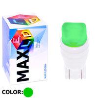 Cветодиодная лампа W5W T10 – Max-Ceramic A 2 Led 3Вт Зелёная
