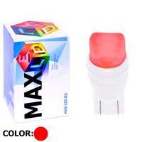 Cветодиодная лампа W5W T10 – Max-Ceramic A 2 Led 3Вт Красный