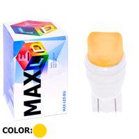 Cветодиодная лампа W5W T10 – Max-Ceramic A 2 Led 3Вт Жёлтая