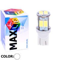 Cветодиодная лампа W5W T10 – Max-Road 10 Led 2Вт Белая