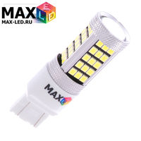 Cветодиодная лампа W21-5W 7443 – Max-Hill 66 Led 16Вт Белая