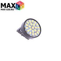 Cветодиодная лампа W21W 7440 – Max-2820 22 Led 3Вт Белая