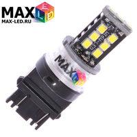 Cветодиодная лампа P27W 3156 – Max-Hill 15 Led 15Вт Белая