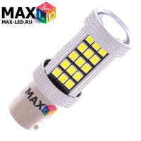 Cветодиодная лампа P21W 1156 – Max-Hill 66 Led 16Вт Белая