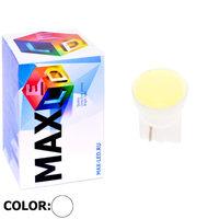Cветодиодная лампа W5W T10 – Max-COB 1 Led 1Вт Белая