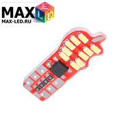 Cветодиодная лампа W5W T10 – Max-Lendigo 20 Led 2Вт Белая