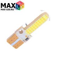 Cветодиодная лампа W5W T10 – Max-COB Silica PCB 2Вт Белая