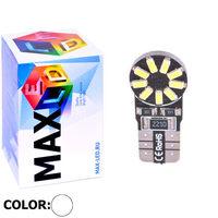 Cветодиодная лампа W5W T10 – Max-Lendigo 18 Led 2Вт Белая