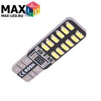Cветодиодная лампа W5W T10 – Max-Lendigo 24 Led 2Вт Белая