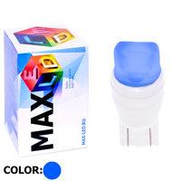 Cветодиодная лампа W5W T10 – Max-Ceramic A 2 Led 3Вт Синий