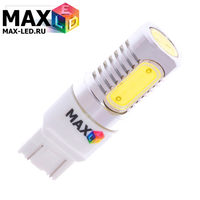 Cветодиодная лампа W21-5W 7443 – Max-COB 4 Led 8Вт Белая